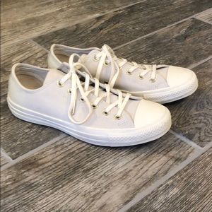 Converse all star ox ct leather low top Womens 7.5